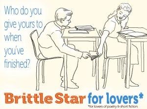 kids passing Brittle Star