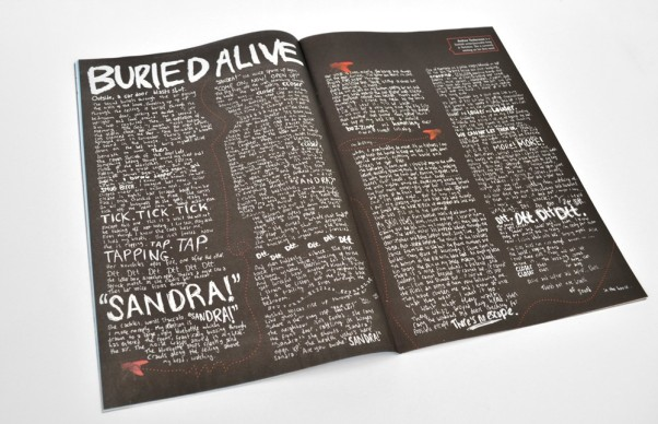Firewords Issue 1 - Buried Alive