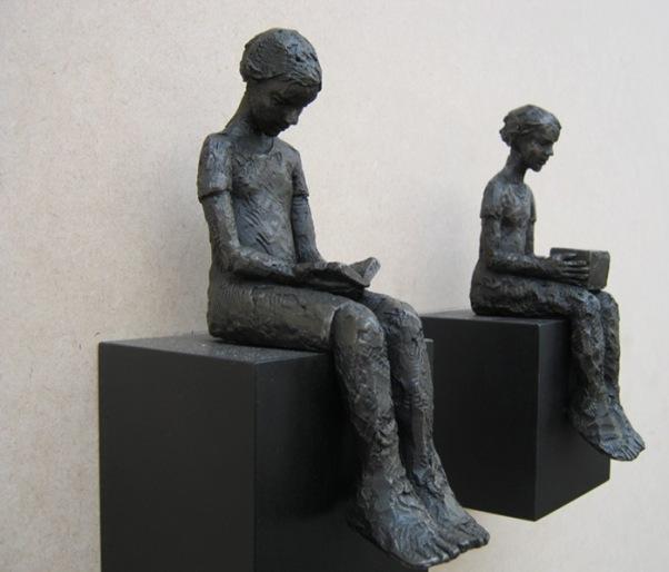 Carol Peace sculptures