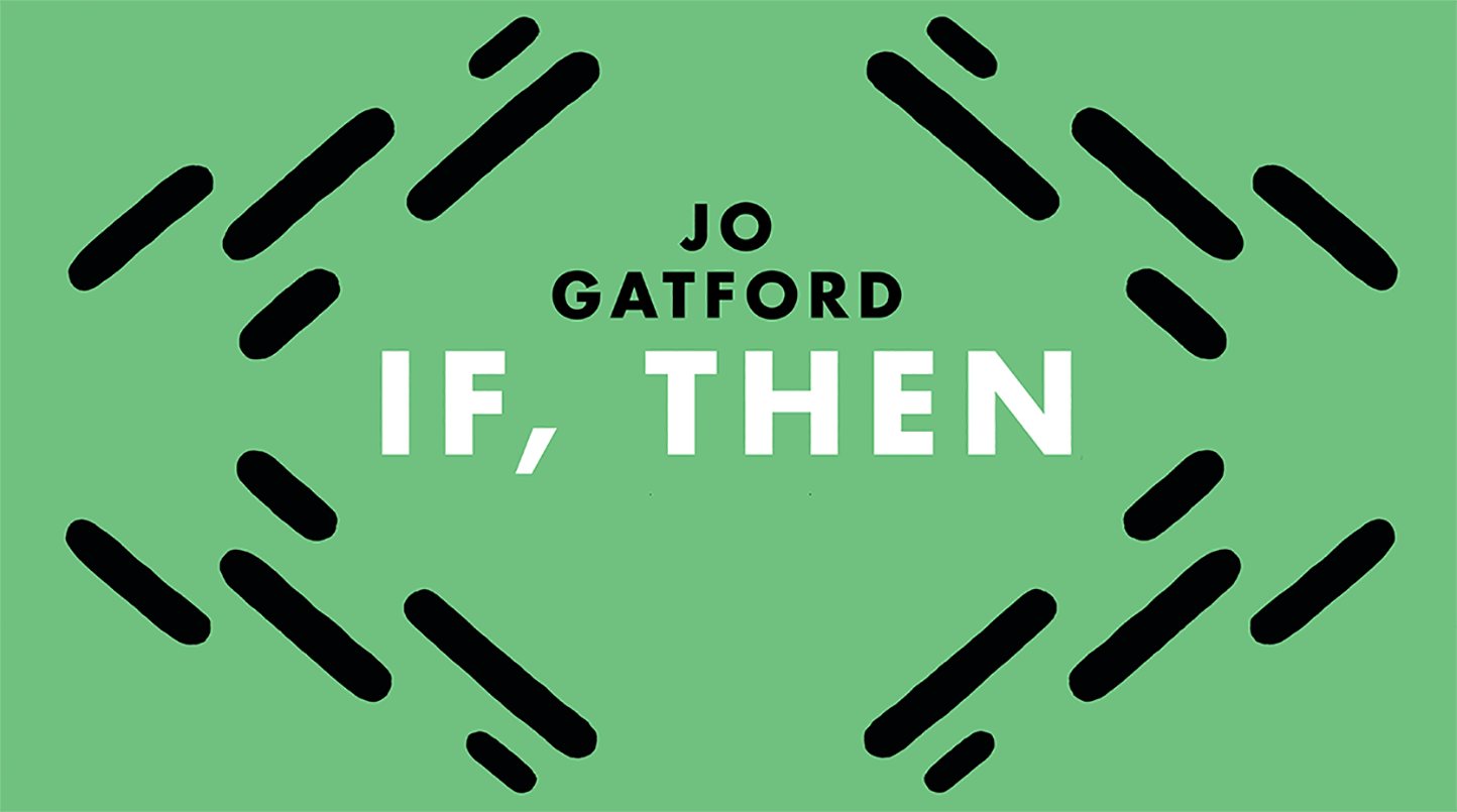 jo gatford if, then cover flat