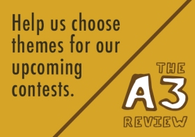 Choose contest themes for The A3 Review