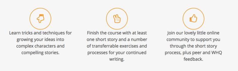 short fiction online writing course