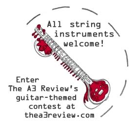 a3 guitar contest