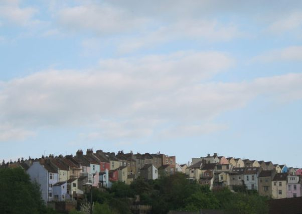 Totterdown coloured houses cr Judy Darley