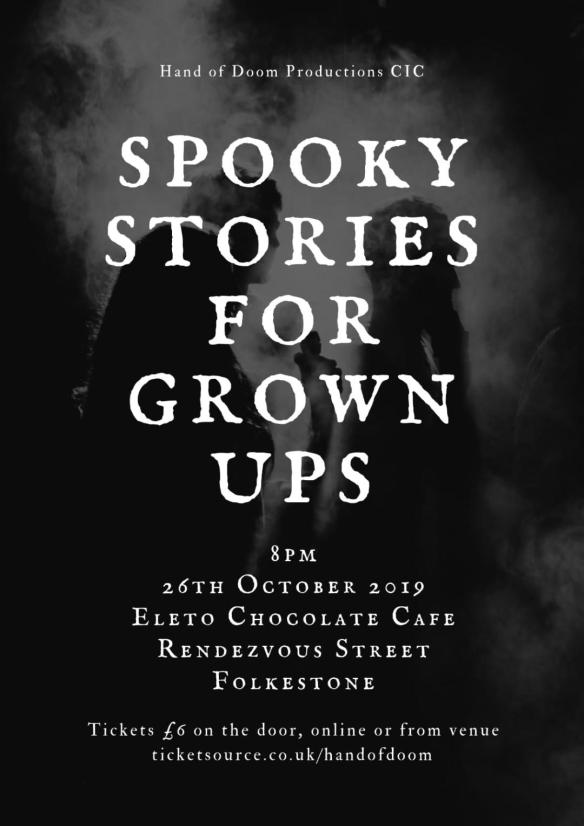 Spooky Stories For Grown Ups Shortstops